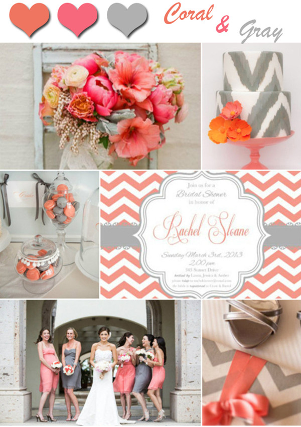 2014-unique-coral-and-gray-wedding-color-ideas-and-invitations ...