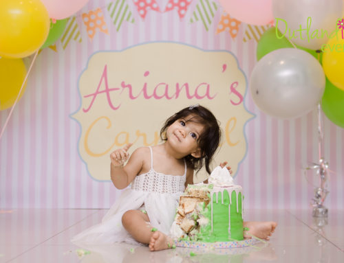 Ariana's Carnival 1st Birthday Party