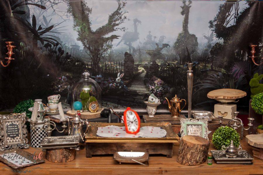 Alice in Wonderland 30th Birthday Party