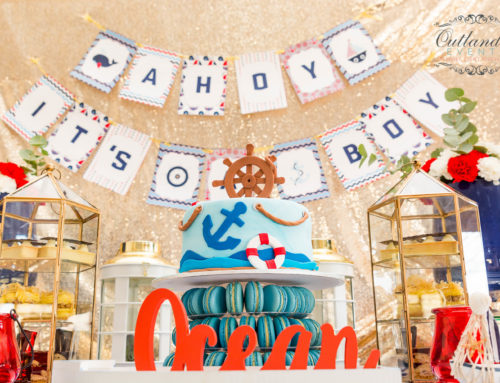 Nautical Glam Baby Shower