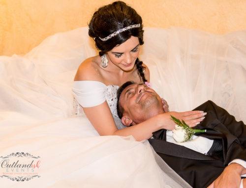 Luxury High-End Destination Wedding in Blush and White