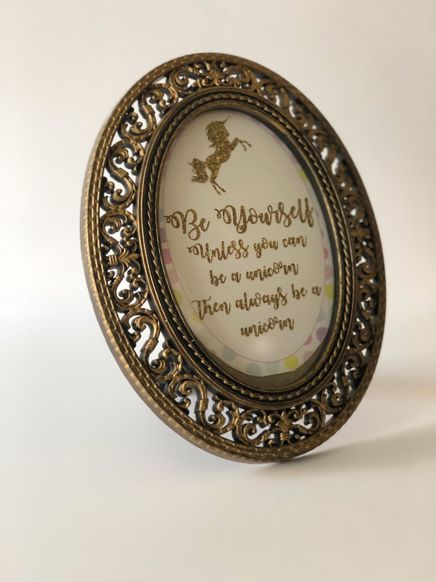 Dorable Gold Oval Picture Frame Ideas