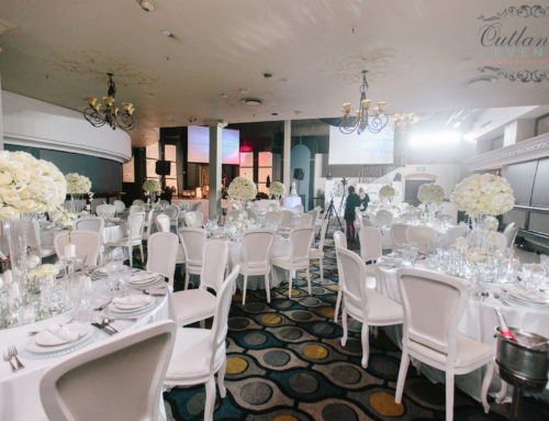 Luxury All White 40th Birthday Party