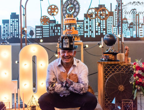 40th Birthday Party – Steampunk Harley Davidson