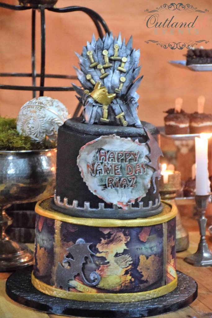 Game of Thrones Inspired 40th Birthday Party