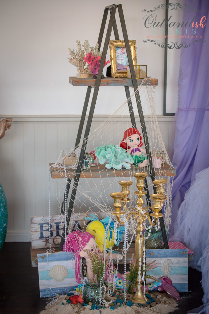 Bespoke Mermaid 1st Birthday Party