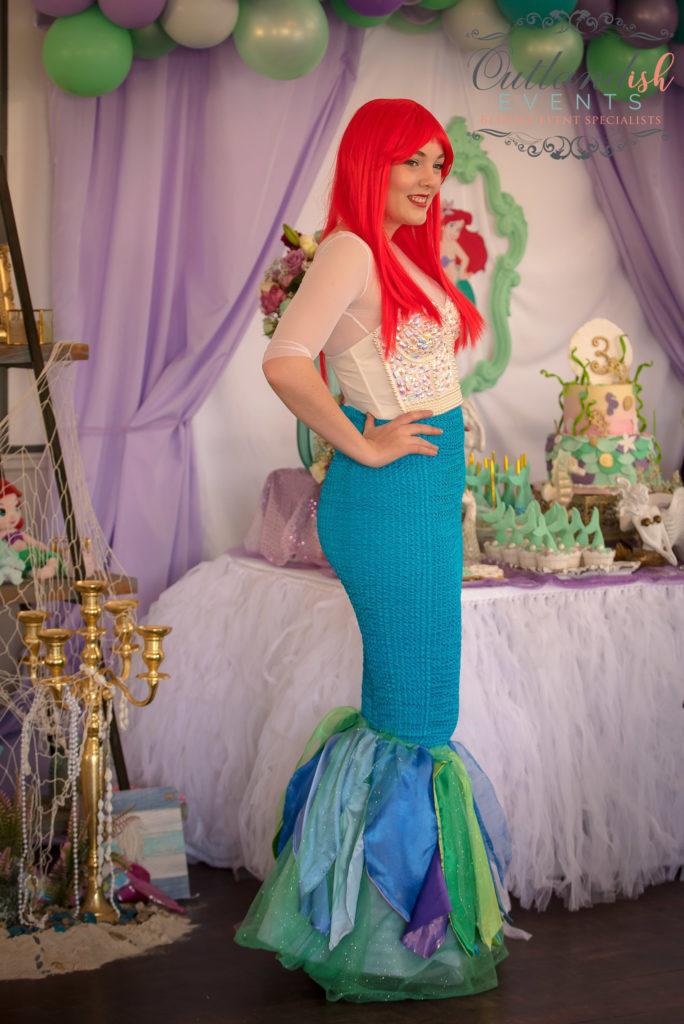 Bespoke Mermaid 1st Birthday Party
