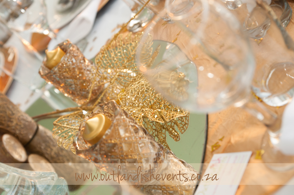 21st Masquerade Party styled by Outlandish Events