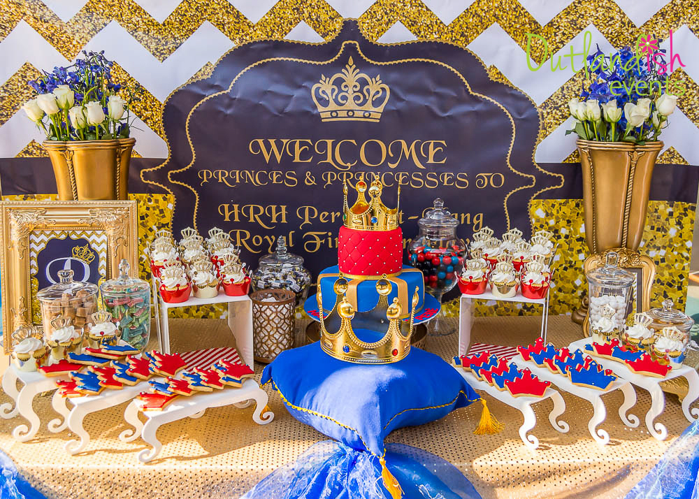 Royal Prince 1st birthday party