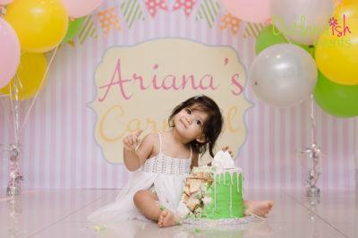 Ariana's Carnival 1st Birthday Party