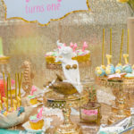 Mermaid Oasis 1st Birthday Party