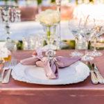 Luxury High End Destination Wedding in Blush and White
