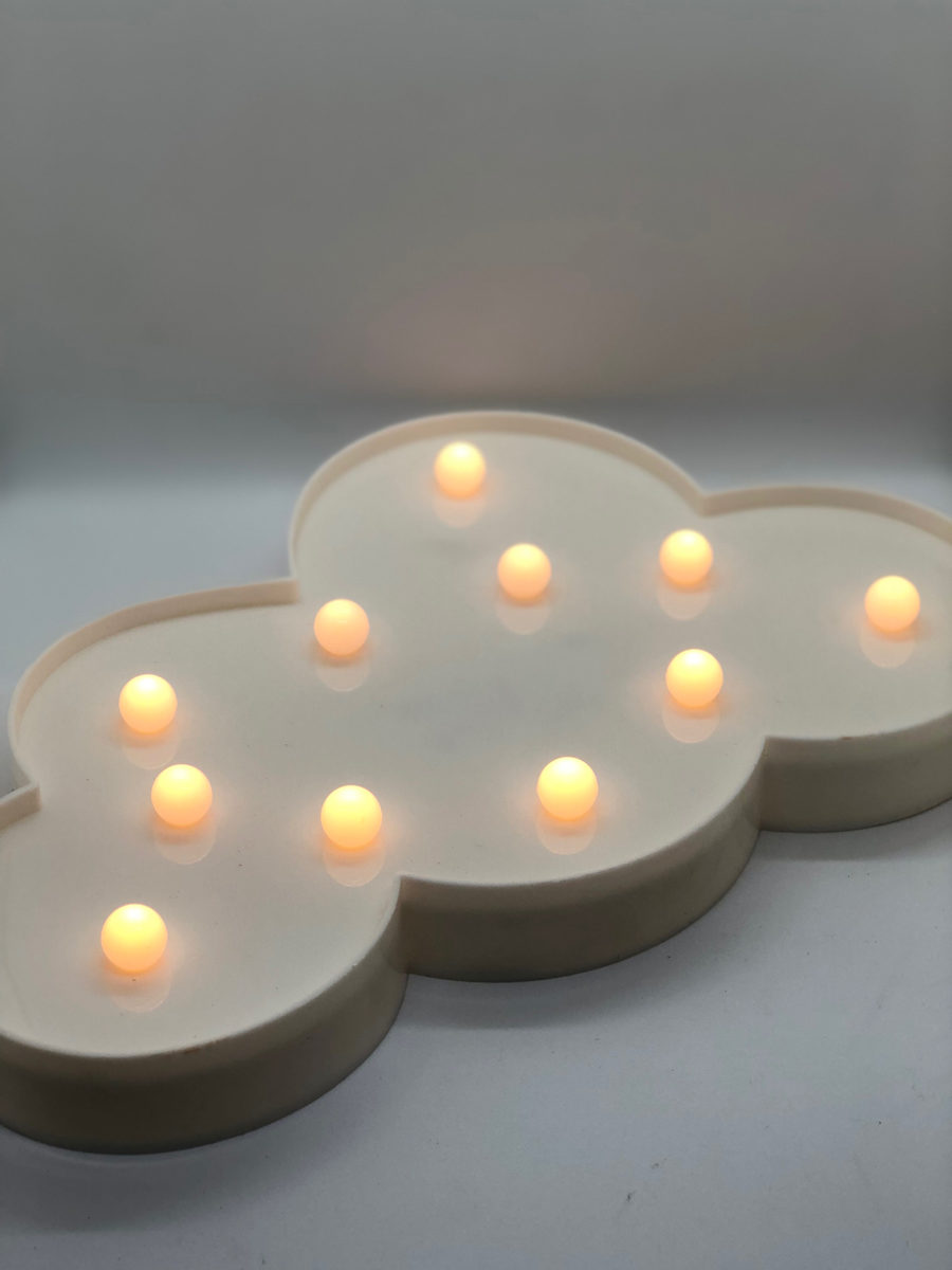 Cloud Marquee Light Decor The Decor Style Studio Decor Hire In Johannesburg
