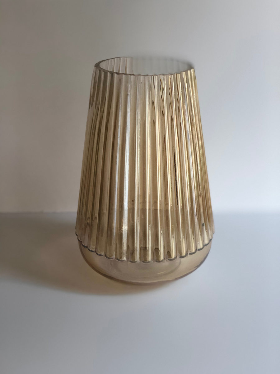The Decor Style Studio - Gold Luminance Vase For Hire