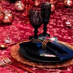 Marsala + Navy VIP High End Corporate Dinner