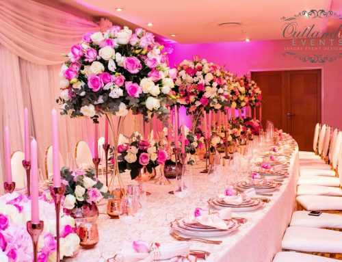 Rosegold + Blush VIP High-End Corporate Dinner