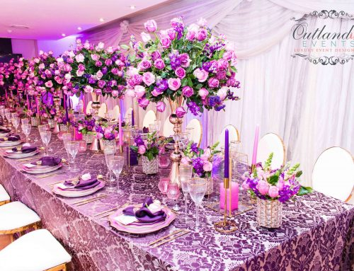 Purple Pink & Gold VIP Dinner 5