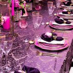 Purple Pink and Gold VIP Dinner 5
