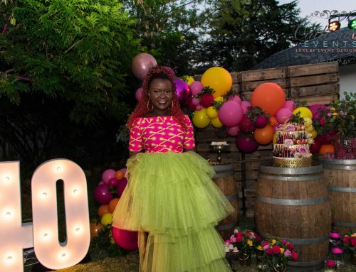 Rustic Glam 40th Birthday Party