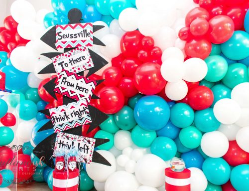 Dr Seuss Party At Home Celebration