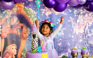 Home Celebrations & Photoshoot Tangled 5th Birthday Party