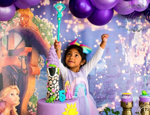 Home Celebration & Photoshoot: Tangled