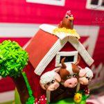 Barnyard 1st Birthday Home Celebration