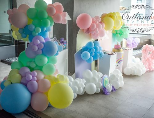 Riya's Rainbow First Birthday Party