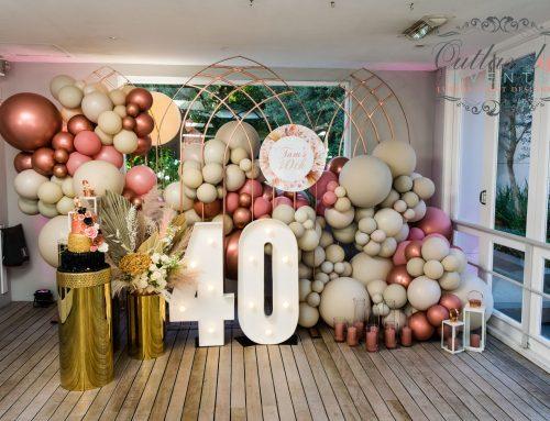 Blush + Nude 40th Birthday Soiree